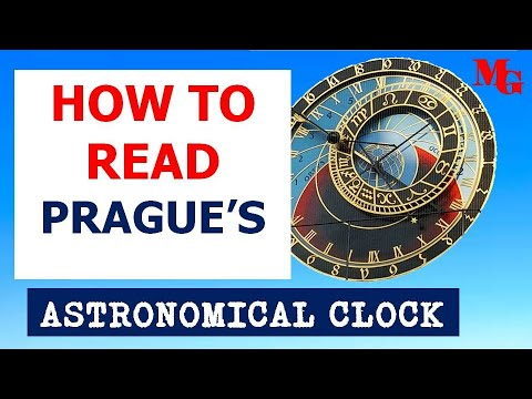 HOW TO READ THE PRAGUE ASTRONOMICAL CLOCK