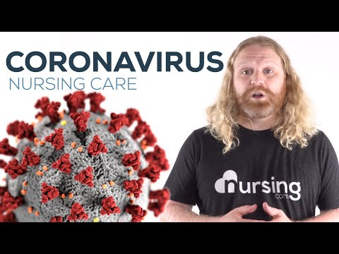 CORONAVIRUS (COVID-19) NURSING CARE | Free Lesson For Nursing Students