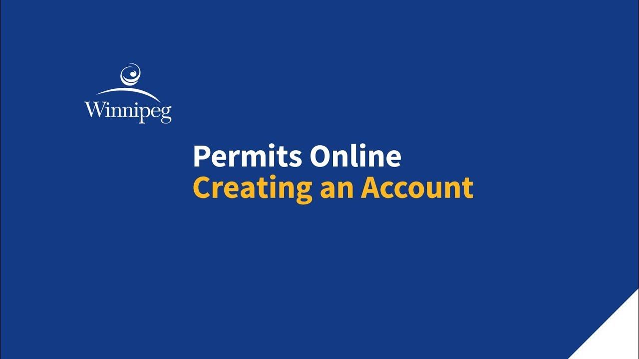 Permits Online - Planning, Property & Development - City of Winnipeg