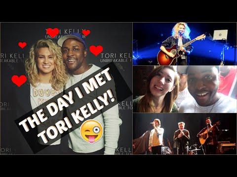 MEETING TORI KELLY! | FIRST VLOG #TKPril | Geeerant