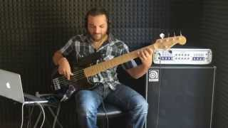 Toto -  Stop Loving You - Bass cover by Maurizio Testani wit...