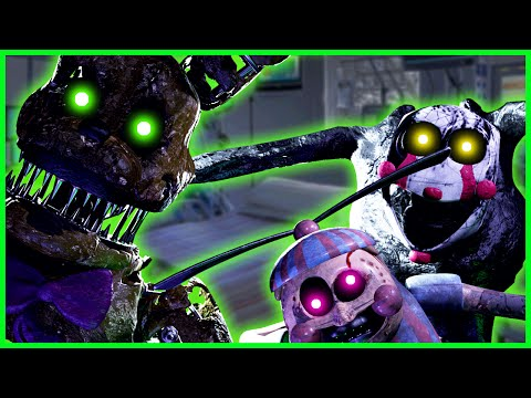 THE NEW FNAF ANIMATRONICS ARE INSANE!  - Final Nights 3: Nightmares Awaken (Five Nights at Freddy's)