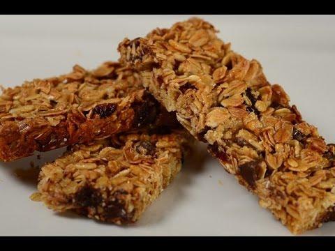 Granola Bars Recipe Demonstration - Joyofbaking.com