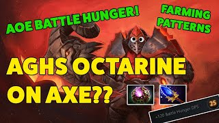 AGHS OCTARINE ON AXE?? - CRAZY COMEBACK!