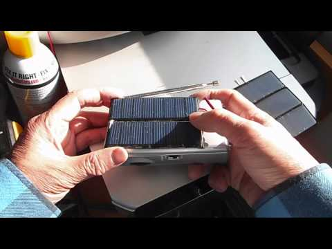 Make your radio solar capable and solar rechargeable