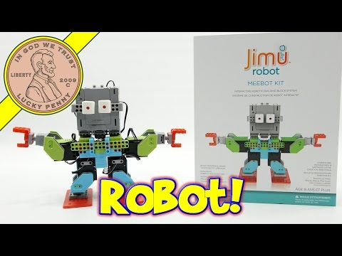 jimu-robot-meebot-kit---complete-robot-build!