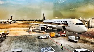 SINGAPORE AIRLINES A350 | ECONOMY CLASS REVIEW