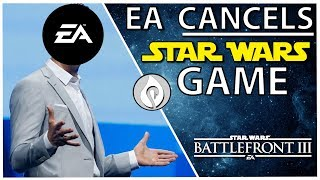 Ea Cancels Their Open World Star Wars Game