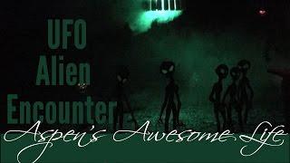 Creepy Clown in the Woods Part 3 : UFO Alien Encounter