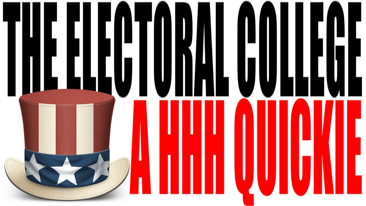 the electoral college explained in one minute the electoral college explained in one minute