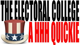 The Electoral College Explained In One Minute