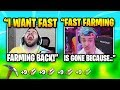 Ninja & Courage Explain Why FAST FARMING Will NEVER Return | Fortnite Daily Funny Moments Ep.360