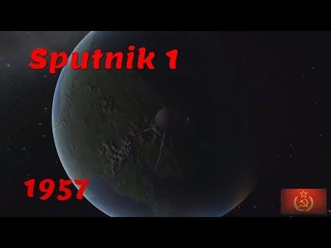 Sputnik launch | Kerbal Space Program
