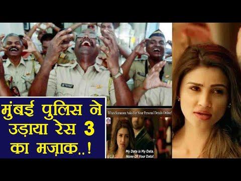 Race 3: Mumbai Police makes FUN of...
