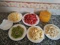 طريقة تحضير سلطة الفواكه Comment préparer une salade de fruits