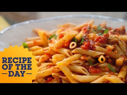 Recipe of the Day: Valeries Arrabiata Penne  Food Network