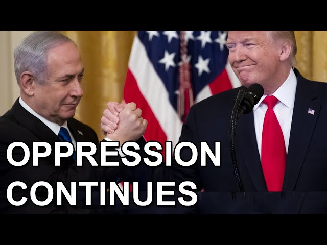 Palestinians Screwed Over (Again) By Trump's New