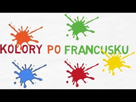 Tylko na zewnątrz Nauka Języka Francuskiego - Podstawowe Kolory - YouTube CE15