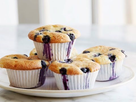 Ina's Blueberry Coffee Cake Muffins   Food Network