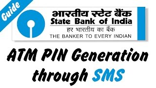 How to Generate ATM PIN Through SMS [State Bank of India]