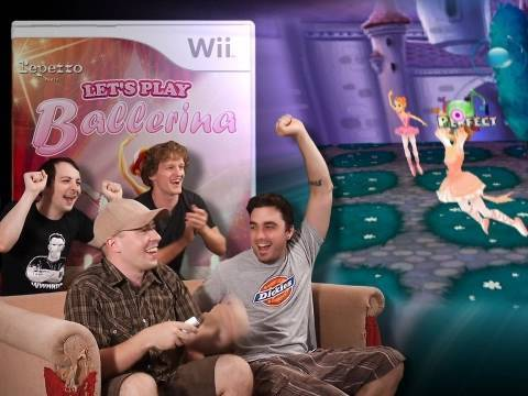 Let's Play Ballerina! - Video Games AWESOME!