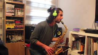 how deep is your love alto sax cover