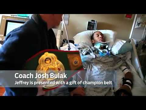 Mixed Martial Arts fighter paralyzed