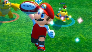 Mario and Sonic at the Olympic Games 2020 Rugby Sevens  Sliver vs Amy , Mario vs Dr Eggman