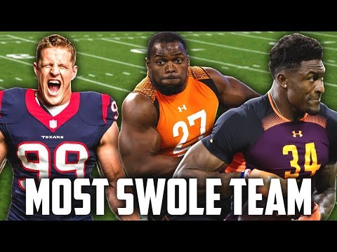 THE SWOLE SQUAD! STRONGEST & SWOLLEST PLAYER TEAM! Madden 19 Ultimate Team