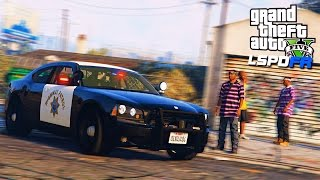 Полицейские Будни в GTA 5 - ГЕТТО. ПЕРЕСТРЕЛКА. БИТВА НА ГРУВ СТРИТ!