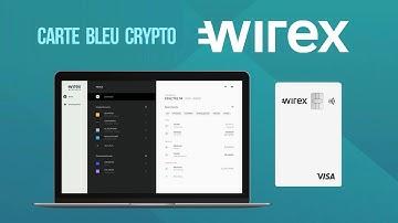 Carte Bleue CRYPTO/€ 💳 Le monde bancaire sans frontières VISA - WIREX