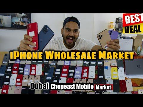 USED iPHONE WHOLESALE MOBILE MARKET in DUBAI Used iPhone 12