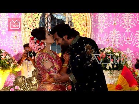 Meghana Raj & Chiranjeevi Sarja | Wedding Reception | Photo-shoot | 2018