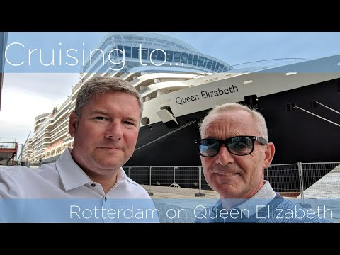 August Bank Holiday 2018 mini cruise to Rotterdam