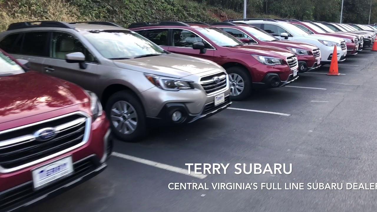 Terry Subaru Model Line Up