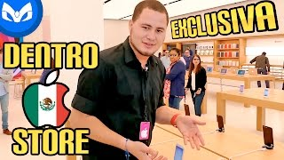 VISITAMOS PRIMERA APPLE STORE EN MEXICO EXCLUSIVA PRENSA