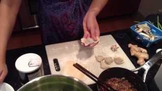 My Chinese Recipes  Wonton Soup Recipe! Moms Homemade Recipe!