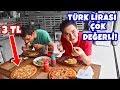 Türk Lirası Bu Ülkede ÇOK DEĞERLİ! (Dünyanın EN UCUZ Yemek Fiyatları!)