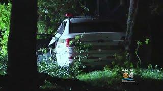 Miami-Dade Police Officer Injured In Overnight Crash