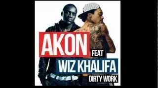 Akon feat Wiz Khalifa - Dirty Work [HD] ( FULL SONG + DOWNLOAD )