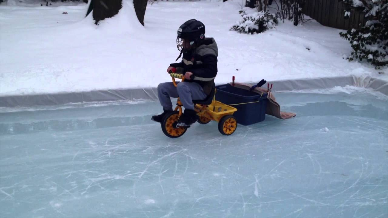 JAXEN THE ZAMBONI KID - YouTube