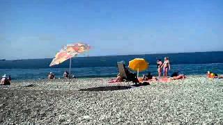 Море.Абхазия.Алахадзы,часть 2