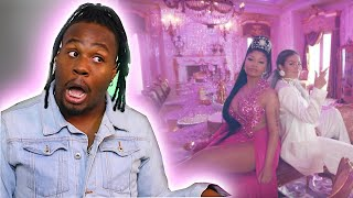 "KAROL G, NICKI MINAJ ""TUSA"" REACTION!!"