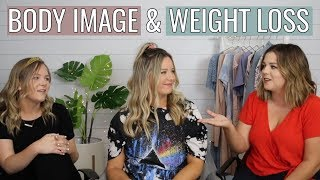a conversation about body image and weight loss with carrie dayton