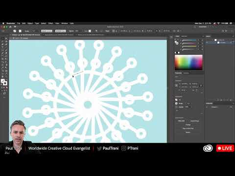 Making Holiday Graphics in Illustrator