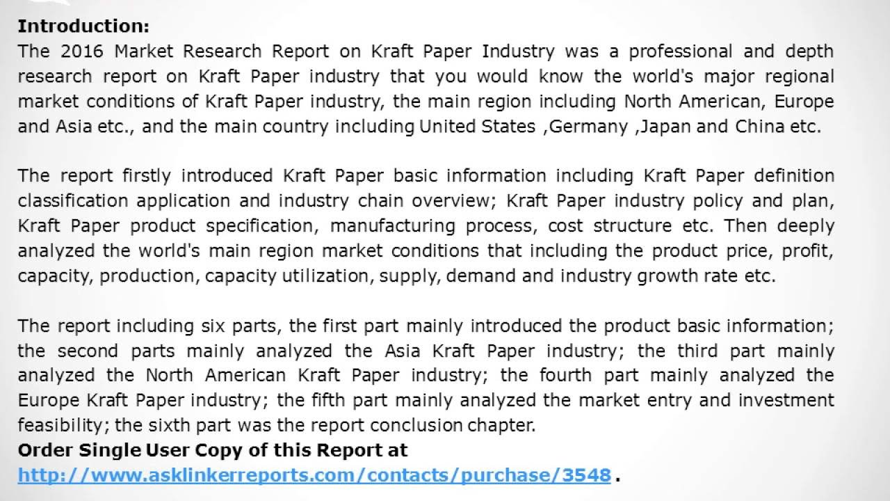 Kraft paper: what it is Classifications and features 90