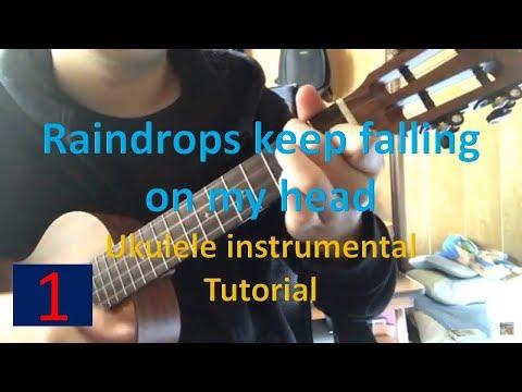 Download Ukulele Chords Strumming For Raindrops Keep Falling On