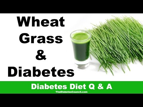 Is Wheatgrass Good For Diabetes?