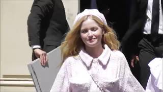 Ellie BAMBER @ Paris 3 july 2018 Fashion Week show Chanel / juillet #PFW