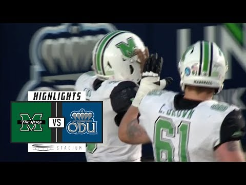 Marshall vs. Old Dominion Football Highlights (2018)   Stadium